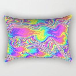 Rainbow Bliss Rectangular Pillow