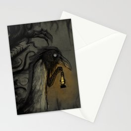 Right Behind You Stationery Cards