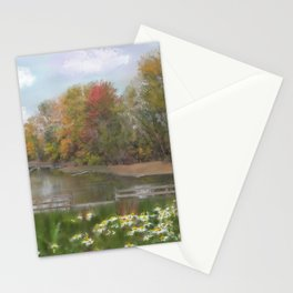 Lasting Autumn Flowers Stationery Cards