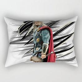 God of Thunder Rectangular Pillow