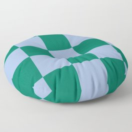 Checked Trendy Lifestyle Pattern Lamia Floor Pillow