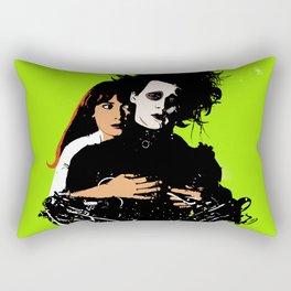 Twin Flame Edward Scissorhands Rectangular Pillow