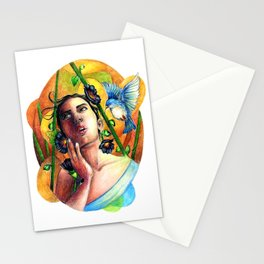 Bird whisperer Stationery Cards