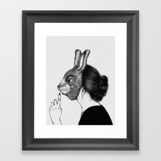 Peculiar III Framed Art Print