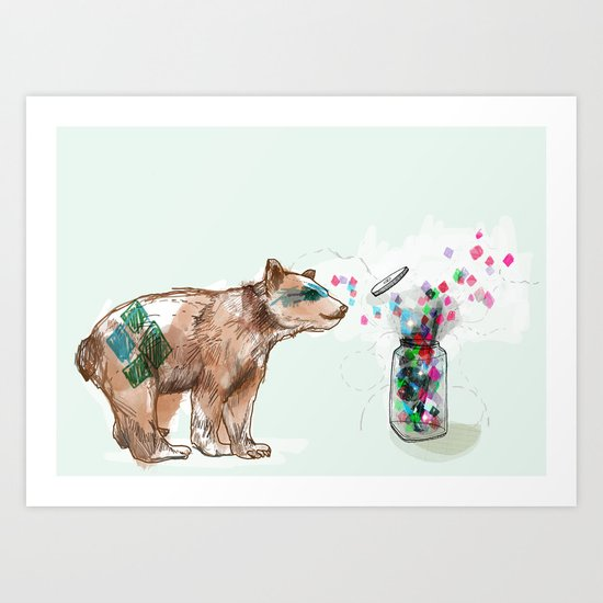 There is Magic all Around Us Art Print
