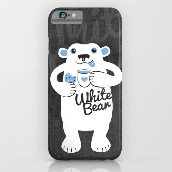 White Bear iPhone & iPod Case