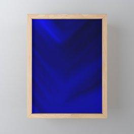 Shades of blue Framed Mini Art Print