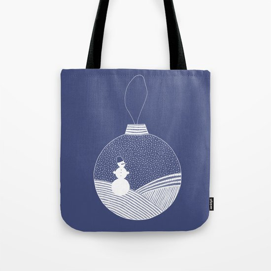 Snowball Tote Bag