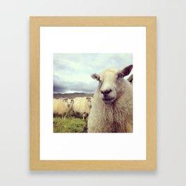 What's up? Framed Art Print