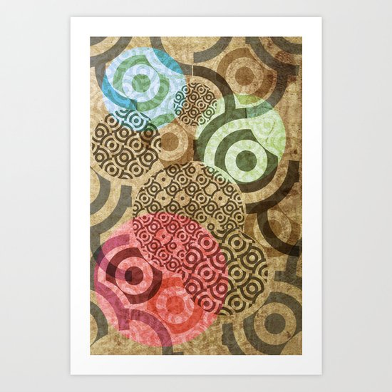 thread Art Print