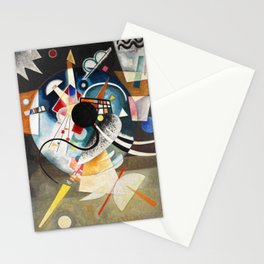 A Center - Wassily Kandinsky Stationery Cards
