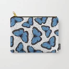 Blue morpho butterflies Carry-All Pouch