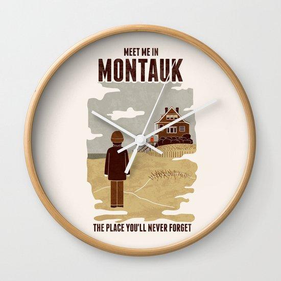 Montauk Wall Clock