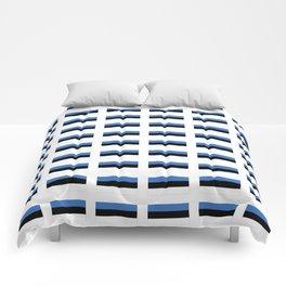 Flag of estonia -estonian,baltic,tallinn,tartu,eesti,balti,slav,viking,baltico,parnu Comforters