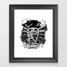 I wish it were mine (Tenenbaums) Framed Art Print