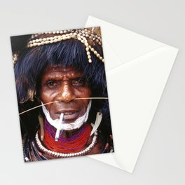 Global Citizen: Papua New Guinea Spirit Dancer Stationery Cards