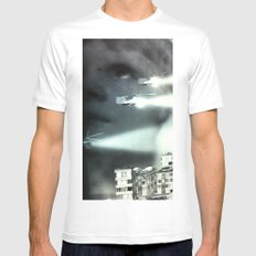 Is this the future I was promised? MEDIUM Mens Fitted Tee White