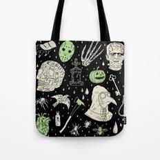 Whole Lot More Horror: BLK Ed. Tote Bag