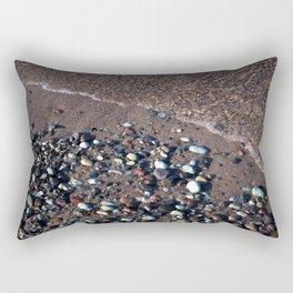 Rainbow beach Rectangular Pillow