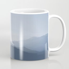 hazy morning blues Coffee Mug