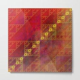 Pattern Decor Metal Print