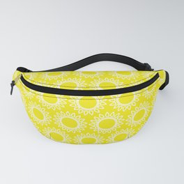 Sun Yellow Pattern - Beach Sun - Mix and Match with Simplicity of Life Fanny Pack