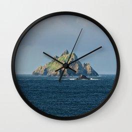 Skellig Islands Wall Clock