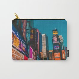 City Lights NYC (Color) Carry-All Pouch