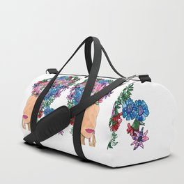 Exotic Beauty Duffle Bag