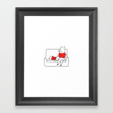 Relax Time Framed Art Print