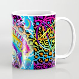 1997 Neon Rainbow Spirit Board Coffee Mug