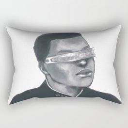 GEORDI LAFORGE Rectangular Pillow