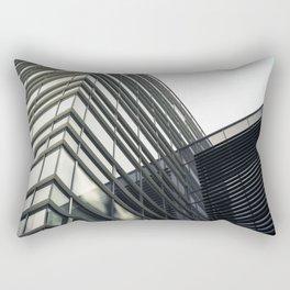 Modern Building Rectangular Pillow
