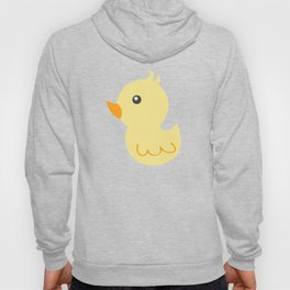 Yellow rubber ducks illustration Hoody