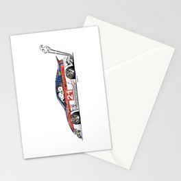 Crazy Car Art 0226 Stationery Cards