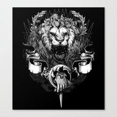 Lion Crest Canvas Print
