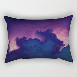 Bad Ass Purple Sky Rectangular Pillow