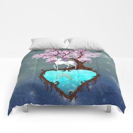 Lonely Unicorn Comforters