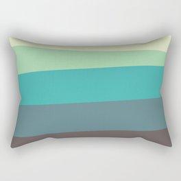 Green Tone Rectangular Pillow
