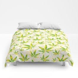 Weed OG Kush Pattern Comforters