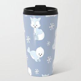 ARCTIC FRIENDS (blue) Travel Mug