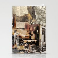 industrial Stationery Cards featuring Industrial by victorygarlic - Niki