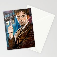 The Tenth Doctor and His TARDIS Stationery Cards