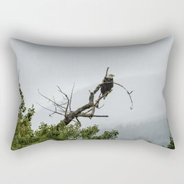 The Eagle's Throne Rectangular Pillow
