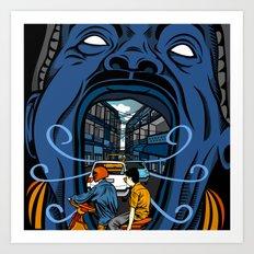 Phnom Penh Art Print