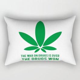 The Drugs Won (1) Rectangular Pillow