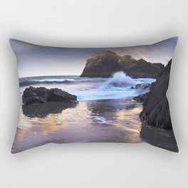 Kynance Cove, The Lizard, Cornwall, England, United Kingdom Rectangular Pillow