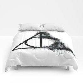 Hallows Symbol Comforters