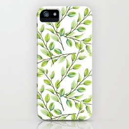 Branches and Leaves iPhone Case