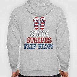Stars, Stripes, Flip Flops Hoody